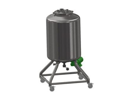 Stainless Steel Vessel with Mixer 2